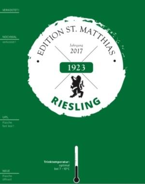 Edition St.Matthias Riesling QbA feinherb