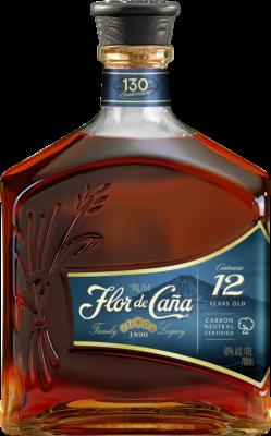 Flor de Cana Centenario Rum 12 Años