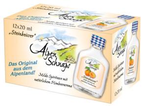 Alpenschnaps Steinbeisser Marille