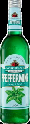 Nordbrand Pfefferminzlikör - Liter