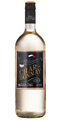 Grand Restaurant CHIC Chardonnay Vin de Pays DOC