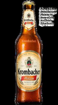 Krombacher Weizen hell