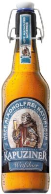 Kapuziner Hefe-Weissbier alkoholfrei Naturtrüb