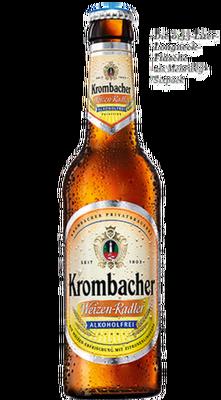 Krombacher Weizen-Zitrone alkoholfrei
