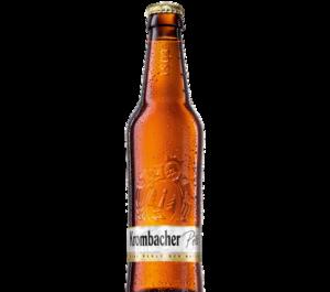 Krombacher Pilsner (Relief-Flasche)